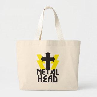 METAL HEAD LARGE TOTE BAG