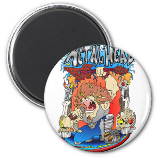 Metal Head Magnet