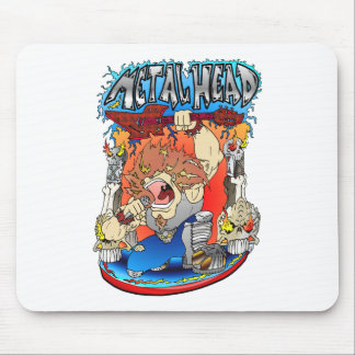 Metal Head Mouse Pads