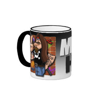 Metal Head Mug