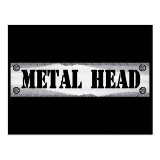 Metal Head Post Cards