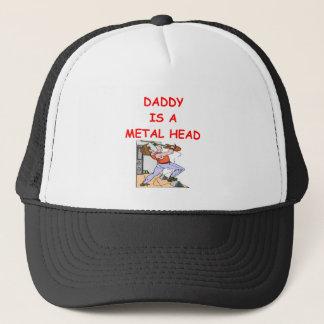 METAL head Trucker Hat