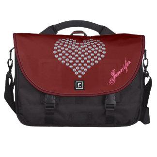 Metal Heart Laptop Bag Template
