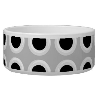 Metal Holes Grill (faux) Pet Food Bowl