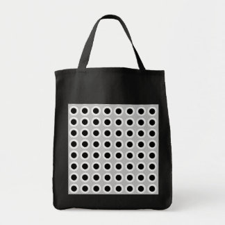 Metal Holes Grill (faux) Tote Bag