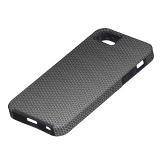 Metal: Honeycomb Brushed Metal Grill iPhone SE/5/5s Case
