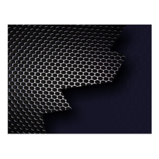 Metal Honeycomb Postcard