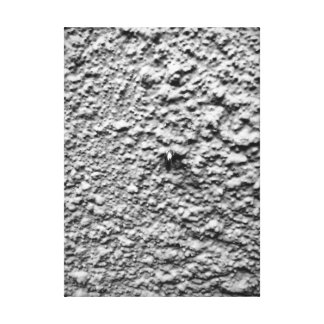 Metal Hook In Concrete Wall Wrapped Canvas