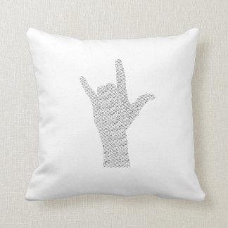 Metal Horn Pillow