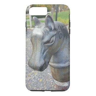 Metal Horse Parking Pole iPhone 8 Plus/7 Plus Case