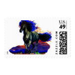 Metal Horse Stamps
