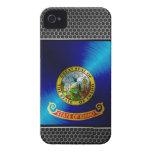 Metal Idaho Flag iPhone 4 Covers