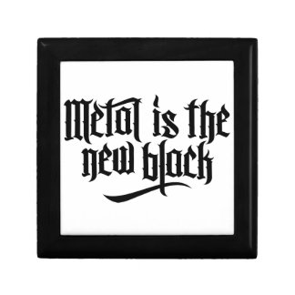Metal is the new black No.1 (black) Jewelry Boxes