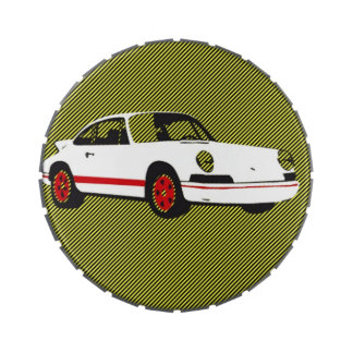 metal Jelly Belly™ Giant Snip Snap Tin 911 turbo Jelly Belly Candy Tin