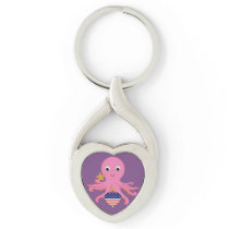 Metal Key Chain Octopus For A Preemie US