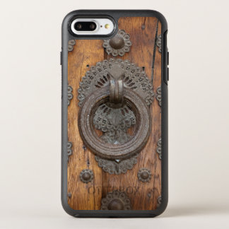 Metal Knocker on Old Wooden Door OtterBox Symmetry iPhone 8 Plus/7 Plus Case