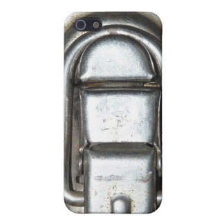 Metal Lock Clasp Buckle iPhone SE/5/5s Cover