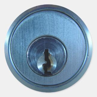 Metal Lock Stickers