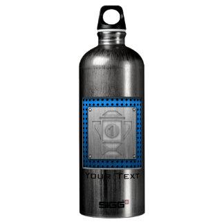 Metal-look 1st Place Trophy Water Bottle