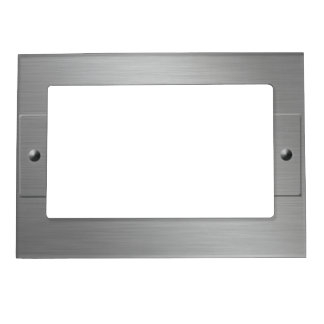 Metal Look custom picture frame Magnetic Photo Frames