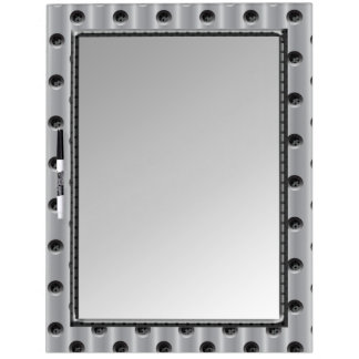 Metal-Look Dry-Erase Board