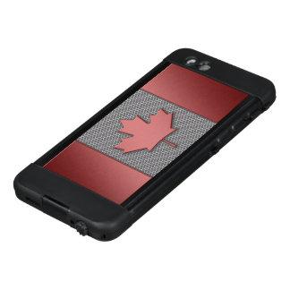 Metal Look Flag of Canada LifeProof® NÜÜD® iPhone 6 Case