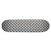 Metal-Look Skateboard Deck