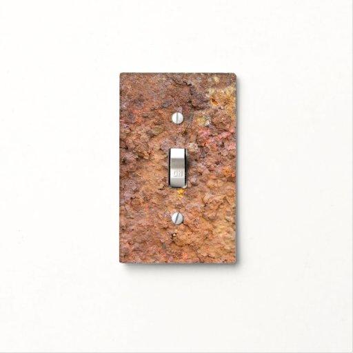 Metal Looks Like Stone Light Switch Cover Zazzle