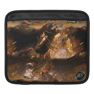 Metal Love Damaged 2 iPad Sleeve