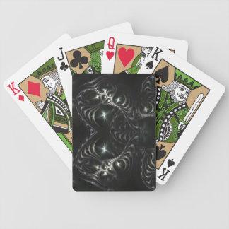Metal Love Fractal Playing Cards