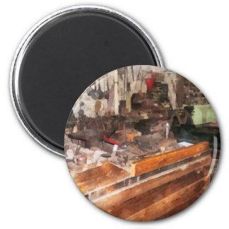 Metal Machine Shop Refrigerator Magnets