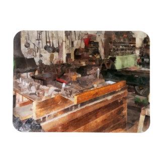 Metal Machine Shop Magnet