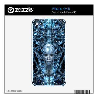 Metal Maiden Skins For The iPhone 4
