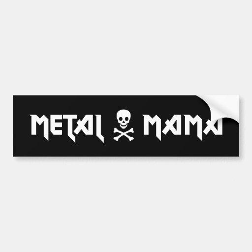 Metal Mama Sticker Bumper Stickers