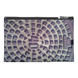 Metal Manhole cover number 40 Travel Accessory Bags