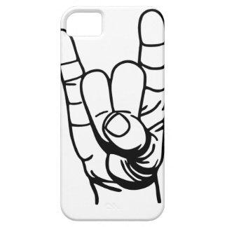 Metal mano - Devil dedo de la mano iPhone 5 Carcasas