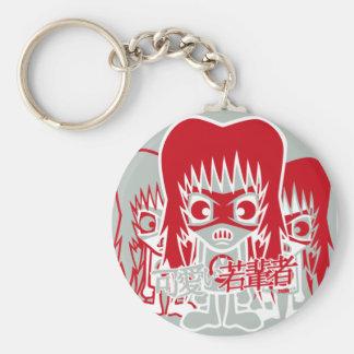 Metal Mascot Keychain