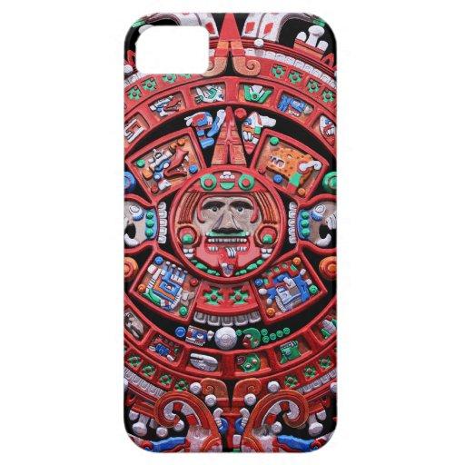 Metal Mayan Sunstone Calender iPhone 5 Covers