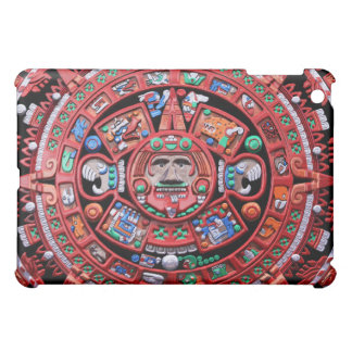 Metal Mayan Sunstone Calender Cover For The iPad Mini