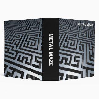 Metal Maze (2in) 3 Ring Binder