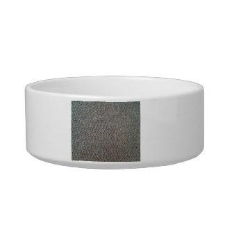 Metal Mesh Texture Cat Water Bowl