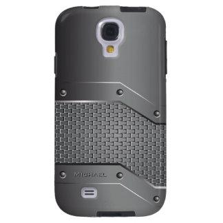 Metal Metallic Style Samsung Galaxy S4 Case