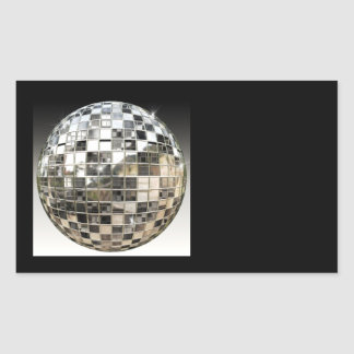 Metal Mirror Ball Stickers