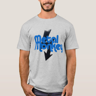 metal monkey lightning strike T-Shirt