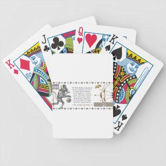 Metal Monkey zodiac Sagittarius 1980 Bicycle Playing Cards