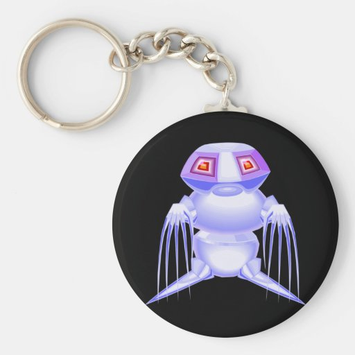 Metal Monster Key Chains