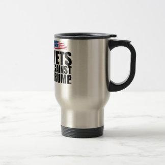 Metal Mug - Vets Against Trump