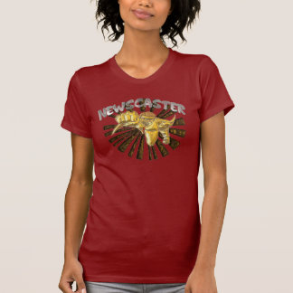 Metal; Newscaster -Name only Tee Shirt