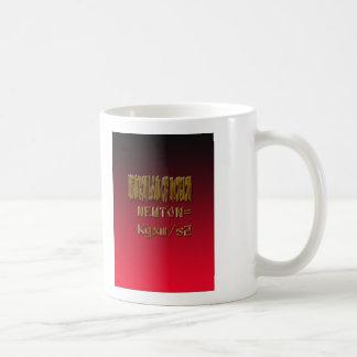 Metal Newton Law Of Motion Coffee Mug