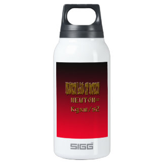Metal Newton Law Of Motion Insulated Water Bottle